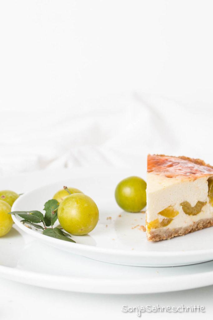 Rezept für einfachen Mirabellenkäsekuchen mit Quark und Schamnd.Bbesser könnt ihr Mirabellen nicht verarbeiten als in diesem einfachen Nachtisch. #backen #quark #schmand #kuchen #mirabellen #sommer #rezepte #verarbeiten #einfach